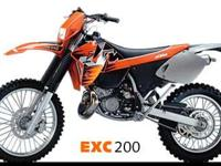 Make: KTM Mileage: 3,000 Mi Year: 1999 Condition: Used