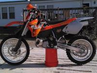I have a nice KTM 250 MXC for sale. Fresh rebuild,