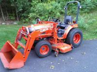1999 Kubota B2400. This is a Kubota B2400- Color is