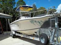 Boat in good condition. Johnson 200 hp motor with