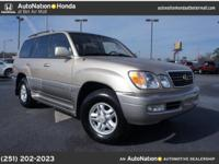 1999 Lexus LX 470 Luxury SUV Our Location is: Treadwell