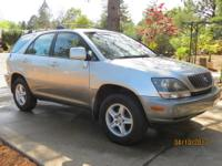 Clean, well Maintained 1999 Lexus RX 300. Four door SUV