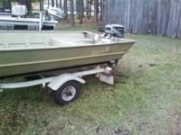 I have a 1999 lowe's 14x36 jon boat with a 1988 25hp