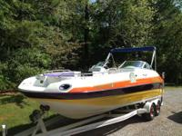 1999 24 ft Mariah Jubilee z244 deck boat... This is one