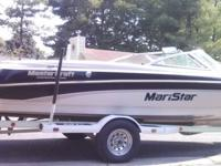 1999 Mastercraft ski boat, Maristar 210 VRS. 5.7 L