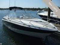 - Stock #80748 - 1999 Maxum 2300 in the water and ready