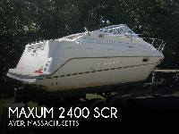 - Stock #080944 - This is a 1999 Maxum 2400 SCR Express