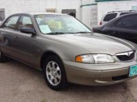 1999 Mazda 626 for sale! V6 engine. Automatic