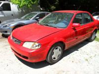 1999 MAZDA PROTEGE FOR PARTS ENGINE HAS PROBLEMS GOOD