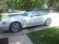 1999 Mercedes Benz SL500 This coupe currently has