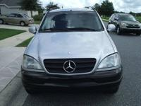 99 MERCEDES ML 420 SPORT UTILITY,V-8,LOADED,IN PERFECT