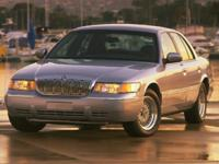 Accident Free AutoCheck History Report, Grand Marquis