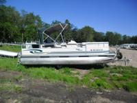 Up for Auction: 1999 Misty Harbor 2020 Pontoon with