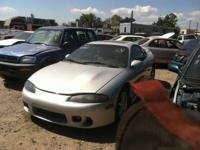 Parting out a 1999 Mitsubishi Eclipse.  This car has