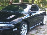 Beautiful eclipse lots of aftermarket 5 spd, short