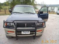 FOR SALE 1999 MITSUBISHI MONTERO SPORT LIMITED 2WD