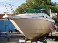 1999 MONTERY 29 276 AFT CABIN CRUISER  TWIN 4.3 L V6