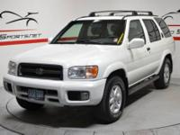 1999 Nissan Pathfinder LE This One Owner Local trade in