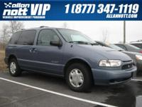 Exterior Color: blue, Body: Mini-Van, Engine: V6 3.30L,