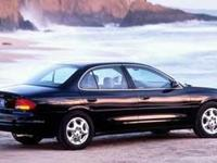 This beautiful 1999 Oldsmobile Intrigue Stock Number