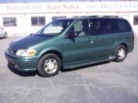 Exterior Color: green, Interior Color: tan, Body: Van,