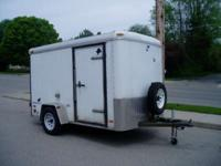 1999 Pace American Cargo Sport 5'x10' Enclosed Trailer
