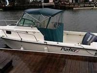 1999 Parker Model 2110 21' walk around with 175 Yamaha