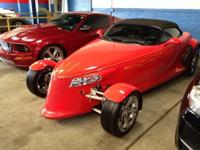 The 1999 Plymouth Prowler! It just arrived on our lot,