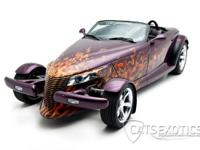 1999 Plymouth Prowler finished in Prowler Purple with a