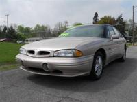 Options Included: N/A1999 PONTIAC BONEVILLE
