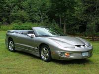 1999 Pontiac Firebird Convertible. Shade - Pewter /