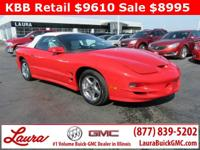 1-Owner New Vehicle Trade! Trans Am 5.7 V8 Convertible