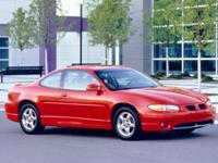 1999 PONTIAC GR PRIX. BUDGET LOT ..RUSTED. CHECK ENGINE