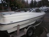 I HAVE A 1999 REGAL WAKEBOARD BOAT VERY GOOD RUNNING