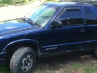 1999 S10 Blazer good transportation body good motor