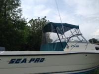 1999 Sea Pro 21' Walk Around2000 Suzuki 150 HP 2