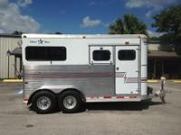 1999 Silver Star 2 horse straight load with a large
