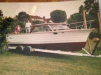 1999 Skiff Craft Wood Cabin Boat is located in