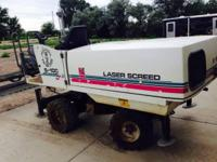 1999 Somero S100 Concrete Laser Screed. 1999 Somero