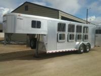 1999 Sooner Legend 4 horse slant load all aluminum