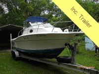This is a good boat for fishing or travelling, has a