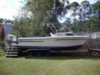 Boat has a 2000 Johnson 225hp outboard; New electronics