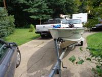 TIS 1999 STARCRAFT SF14LW 14 FT FISHING BOAT HAS A 9.9