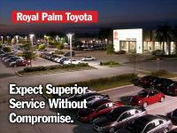 Join us at Royal Palm Toyota! Ready to roll! If you