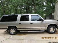 1999 Suburban, real nice and well maintained by an