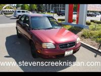 Options Included: N/A99 Suzuki Esteem mars red with