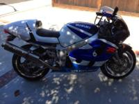 Year: 1999Exterior Color: BlueMake: SuzukiEngine Size