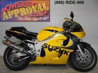 1999 Suzuki GSXR600. This Suzuki is perfect with a
