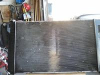 I HAVE A NEWLY TANKED RADIATOR ASKING: $ 60.00 CALL: