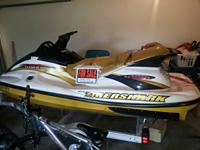 99 Tigershark 1100Li with fitch device. Runs excellent.